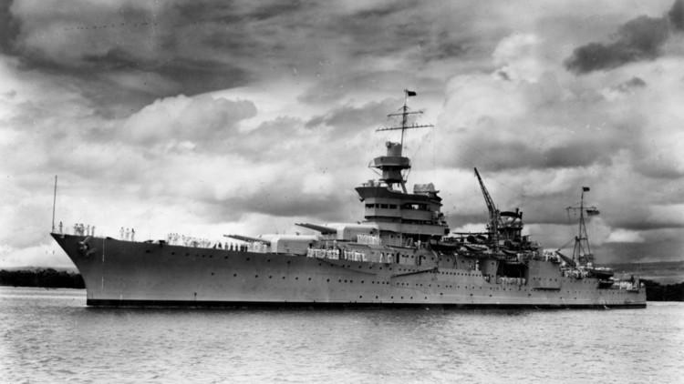 Imágenes inéditas: Así es el mítico crucero USS Indianapolis, que naufragó en 1945