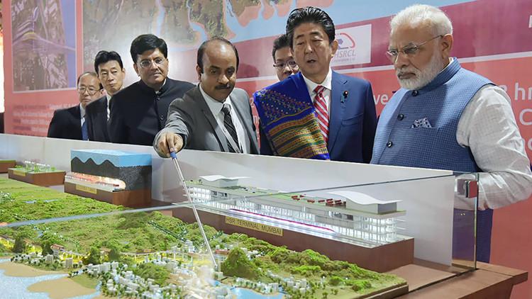 La India se abre a los trenes bala con inversión japonesa (FOTOS Y VIDEO)