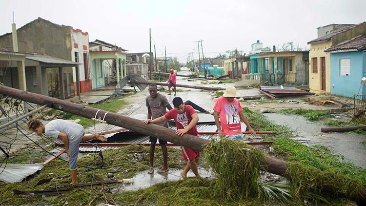 VIDEO: Graban el momento en que el huracán Irma se lleva una gran casa colonial en Cuba