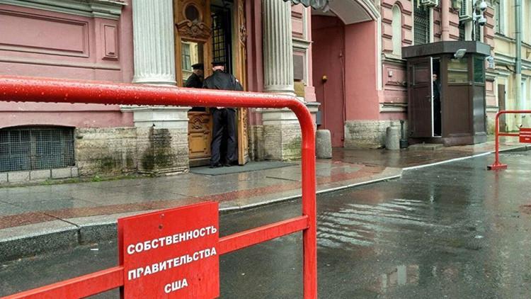 Rusia suprime los aparcamientos reservados para las sedes consulares de EE.UU.