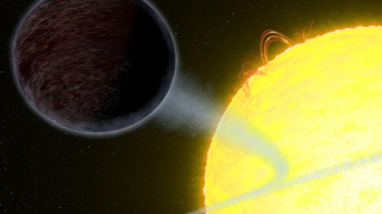 El telescopio espacial Hubble descubre un planeta negro que traga luz