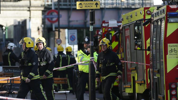 """Testigos del estallido en Londres: """"Una bola de fuego se vino hacia nosotros"""""""