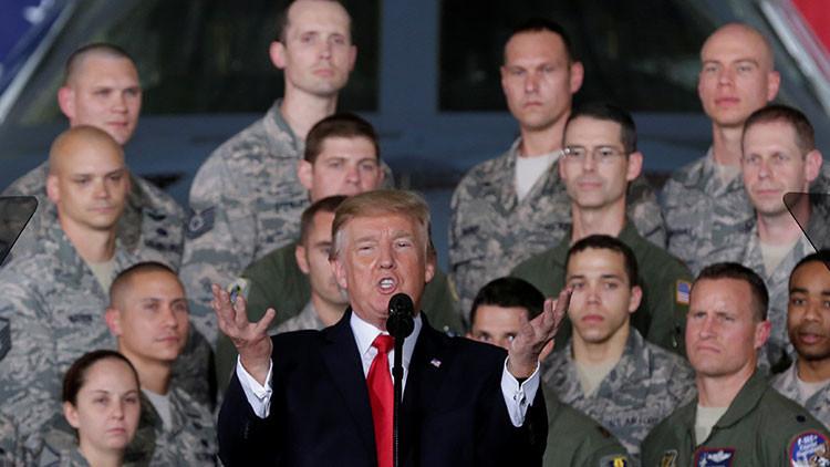 """Trump: EE.UU. cuenta con opciones """"efectivas y abrumadoras"""" para enfrentar la amenaza norcoreana"""
