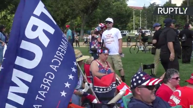 VIDEO: Washington acoge a la 'madre de todas las marchas'