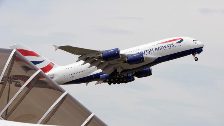 Evacúan un avión de British Airways en el aeropuerto Charles de Gaulle de París
