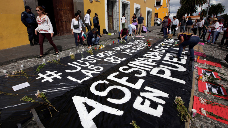 La joven desaparecida y asesinada en México tras abordar un taxi habría sido violada y estrangulada