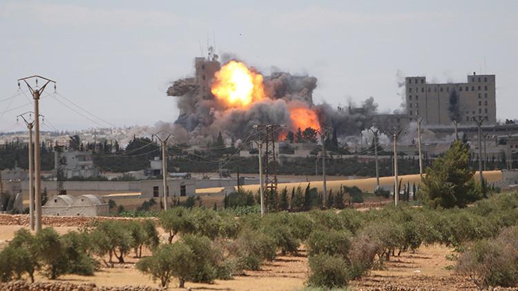 Coalición liderada por EE.UU. admite la autoría del ataque en Deir Ezzor en que murieron 12 civiles