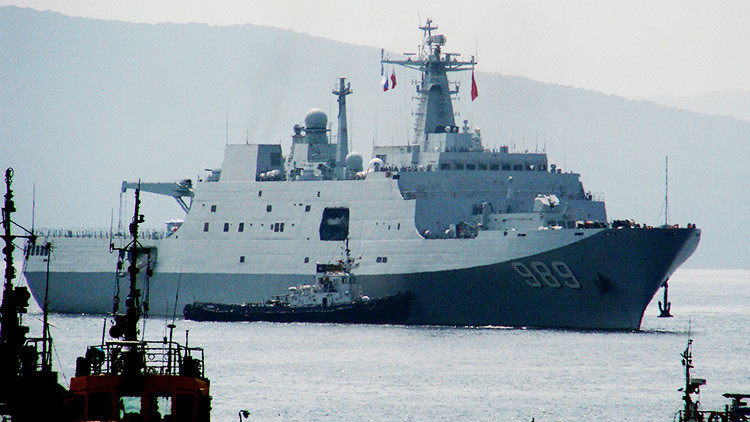 Buques de guerra chinos llegan al mayor puerto ruso en el Pacífico