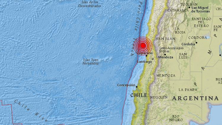 Un terremoto de 5,9 sacude Chile