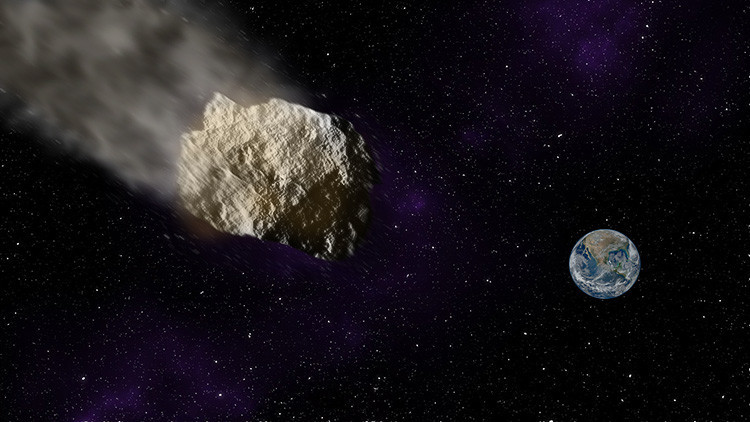 Un asteroide dos veces mayor que el de Cheliábinsk vuela hacia la Tierra
