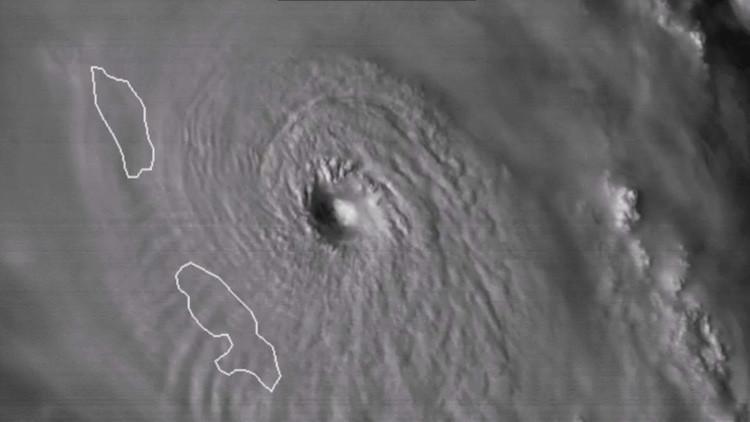 VIDEO: Así se fortalece y se acerca al Caribe el huracán María
