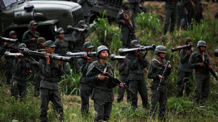 """""""Para Venezuela es una necesidad prepararse militarmente para la defensa del territorio"""""""