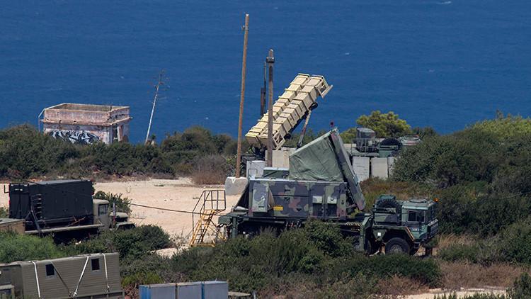 VIDEO: Israel lanza un misil Patriot contra un dron procedente del territorio sirio