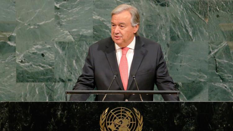 """El secretario general de la ONU: """"El mundo teme una guerra nuclear con Corea del Norte"""""""