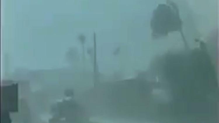 PRIMERAS IMÁGENES: El huracán María azota Dominica
