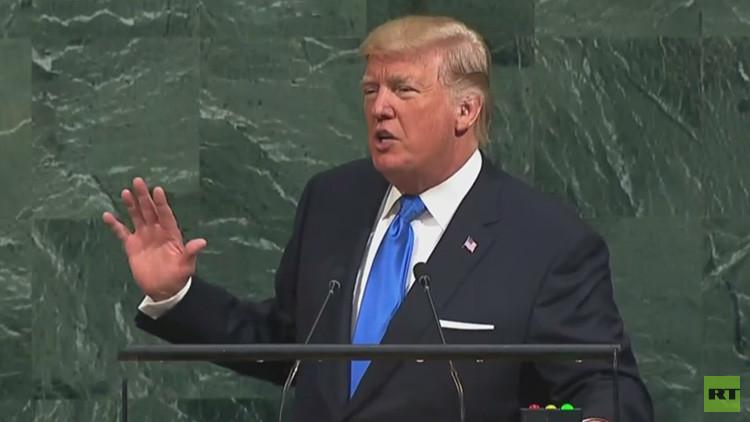"""Trump ante la ONU: """"Nuestro Ejército pronto será más fuerte de lo que ha sido nunca"""""""