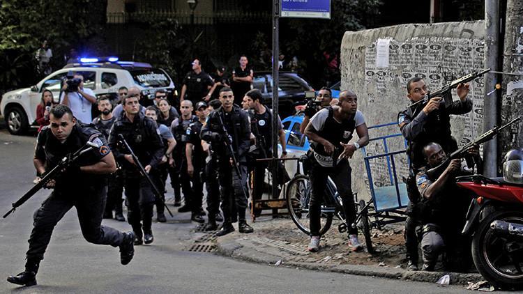 Favelas brasileñas, fuera de control