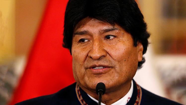 """Morales: """"Trump se siente dueño de las naciones del mundo e impone intervencionismo militar"""""""