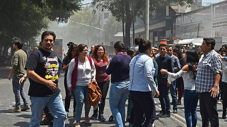 PRIMERAS IMÁGENES: Así fue el terremoto de magnitud 7,1 que sacudió México