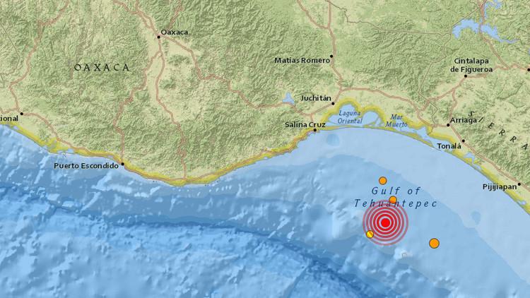 México: Se registra un terremoto de magnitud 4,9 en costas de Oaxaca