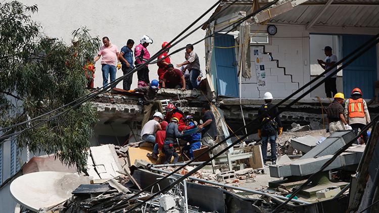 VIDEO: Periodista narra en vivo el inicio del terremoto de México