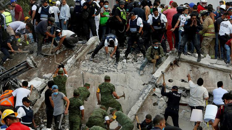 Comunidad internacional se solidariza con México tras el terremoto