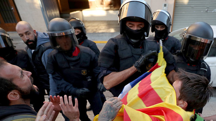 Conflictos entre España y Cataluña por el referéndum