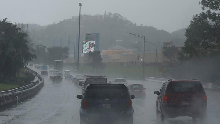 El huracán María llega a Puerto Rico