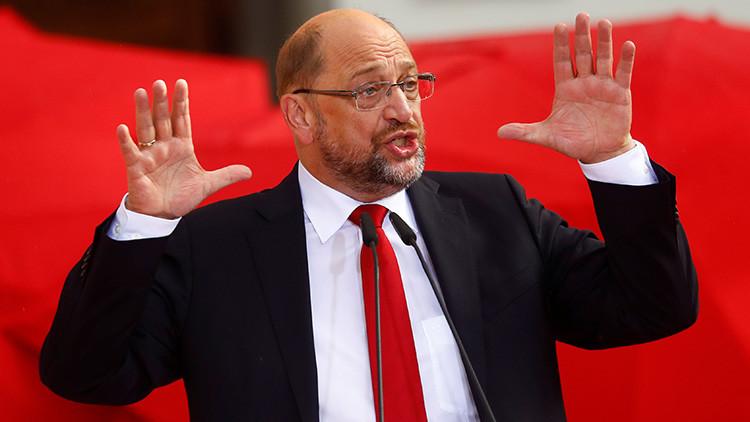 """Martin Schulz: """"Con un solo tuit, Trump puede aniquilar una existencia y discriminar grupos enteros"""""""
