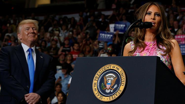 FOTO: Melania Trump sirve para comercializar otro producto de manera curiosa y polémica