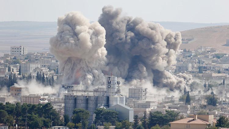 El Éjército británico alardea de un ataque con dron contra el EI que hirió a civiles (VIDEO)