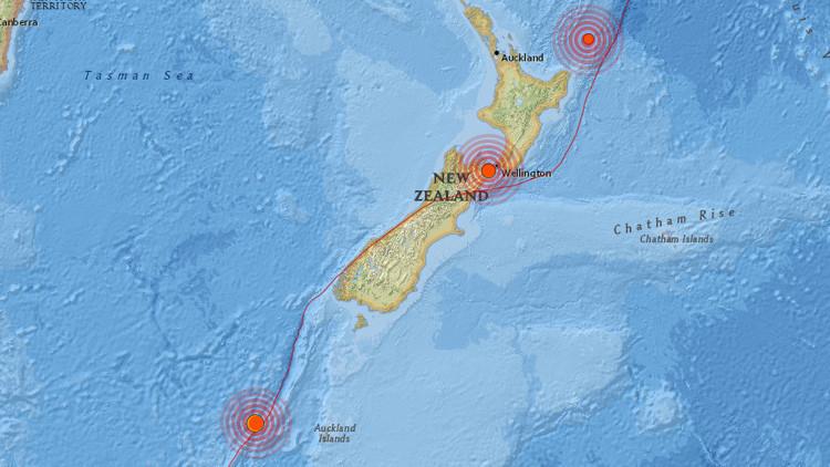 Nueva Zelanda tiembla por un sismo de magnitud 6,1 tras el devastador temblor de México