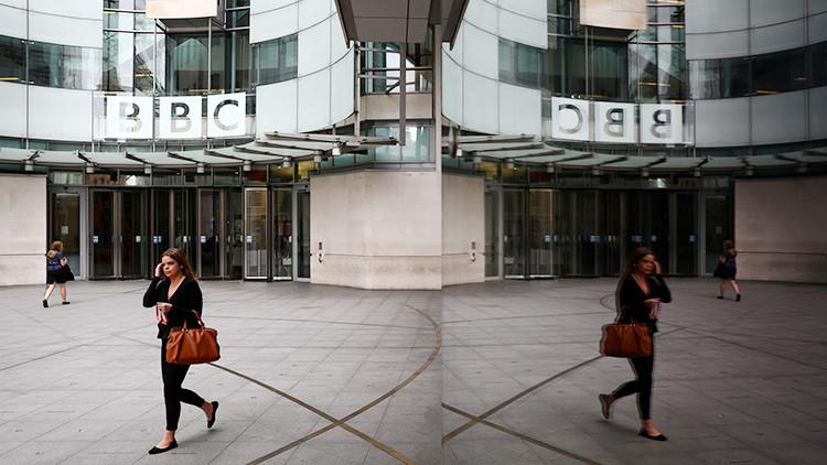 La BBC ilustra con la bandera rusa un artículo sobre terrorismo
