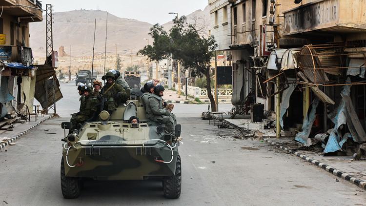 Un ataque terrorista en Siria hiere a tres militares rusos