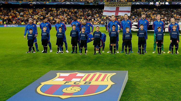 El F.C. Barcelona se pronuncia a favor del referéndum  en Cataluña