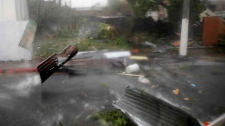Video: María causa severas inundaciones en Puerto Rico