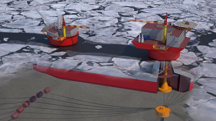Rusia construirá una 'ciudad' submarina robotizada para explotar recursos del Ártico
