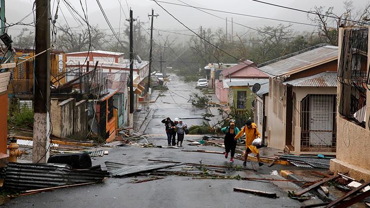 """""""Devastación total"""": Puerto Rico anuncia que el país """"ya no será el mismo"""" tras el paso del huracán"""