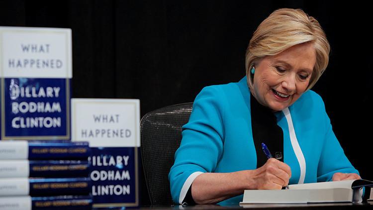 El libro de Hillary Clinton logra un lanzamiento impresionante