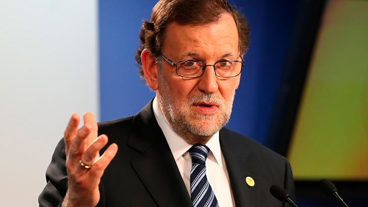 """Rajoy pide al Gobierno catalán que renuncie a la """"quimera"""" del referéndum"""