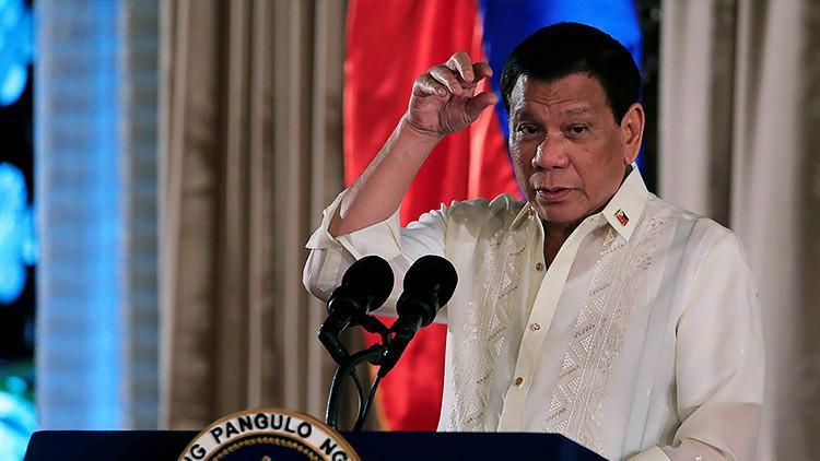 Duterte ordena a la policía que mate a su hijo si está involucrado en el tráfico de drogas