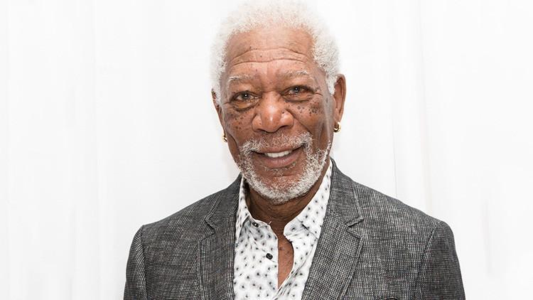 """""""Estamos en guerra"""": Morgan Freeman insta a investigar la 'huella' rusa en las elecciones de EE.UU."""