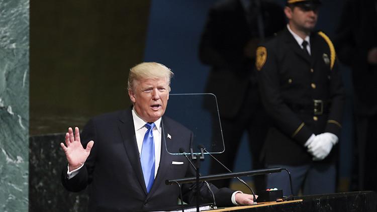 """Trump en la ONU: """"Un abrazo al militarismo criminal  y una invocación nauseabunda al genocidio"""""""