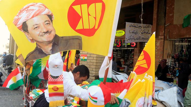 Macron solicita al presidente del Kurdistán iraquí que aplace el referéndum separatista