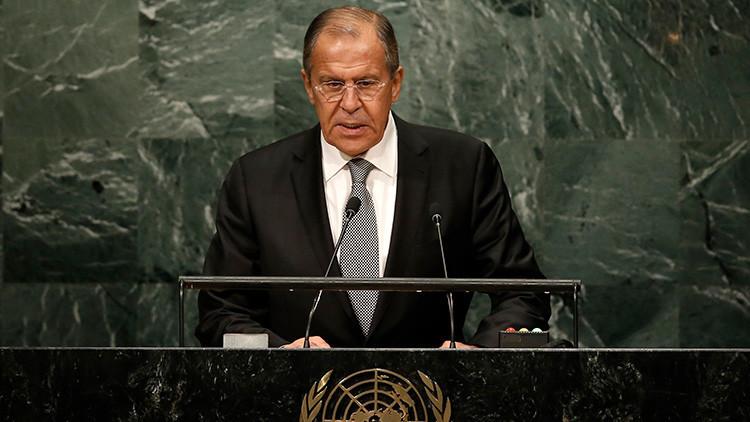 """Lavrov ante la ONU: """"La OTAN recrea el clima de Guerra Fría y niega el principio de seguridad mutua"""""""