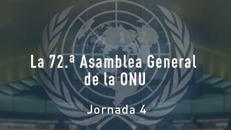 Cuarta jornada del debate general de la 72.ª Asamblea General de la ONU