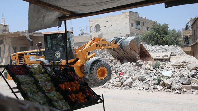"""China pretende jugar """"un rol activo"""" en la reconstrucción de Siria"""