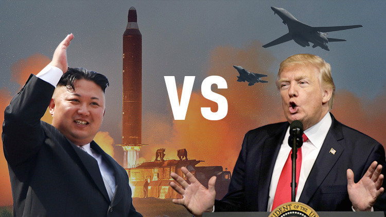 """""""Hombre misil"""" vs. """"gánster loco"""": Así sería la gran batalla verbal entre Trump y Kim en un chat"""