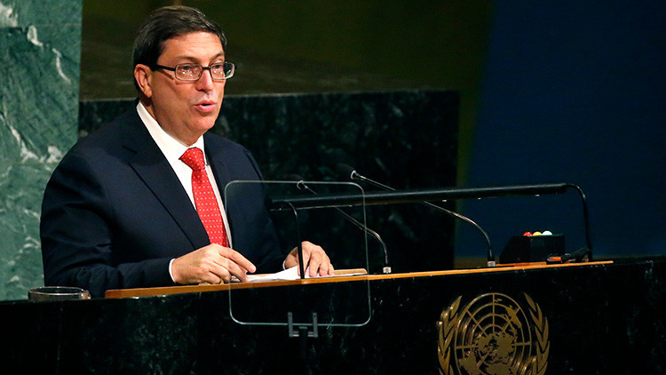 """Cuba ante la ONU: """"Donald Trump tergiversa la historia"""" (VIDEO)"""