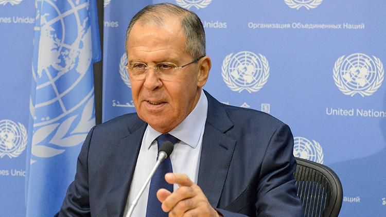 El canciller ruso explica la situación del supuesto uso de armas químicas en Siria